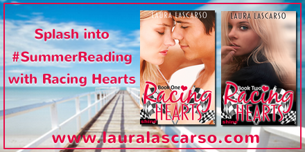 Racing Hearts, Book 2 by Laura Lascarso - Review & $10 Giveaway